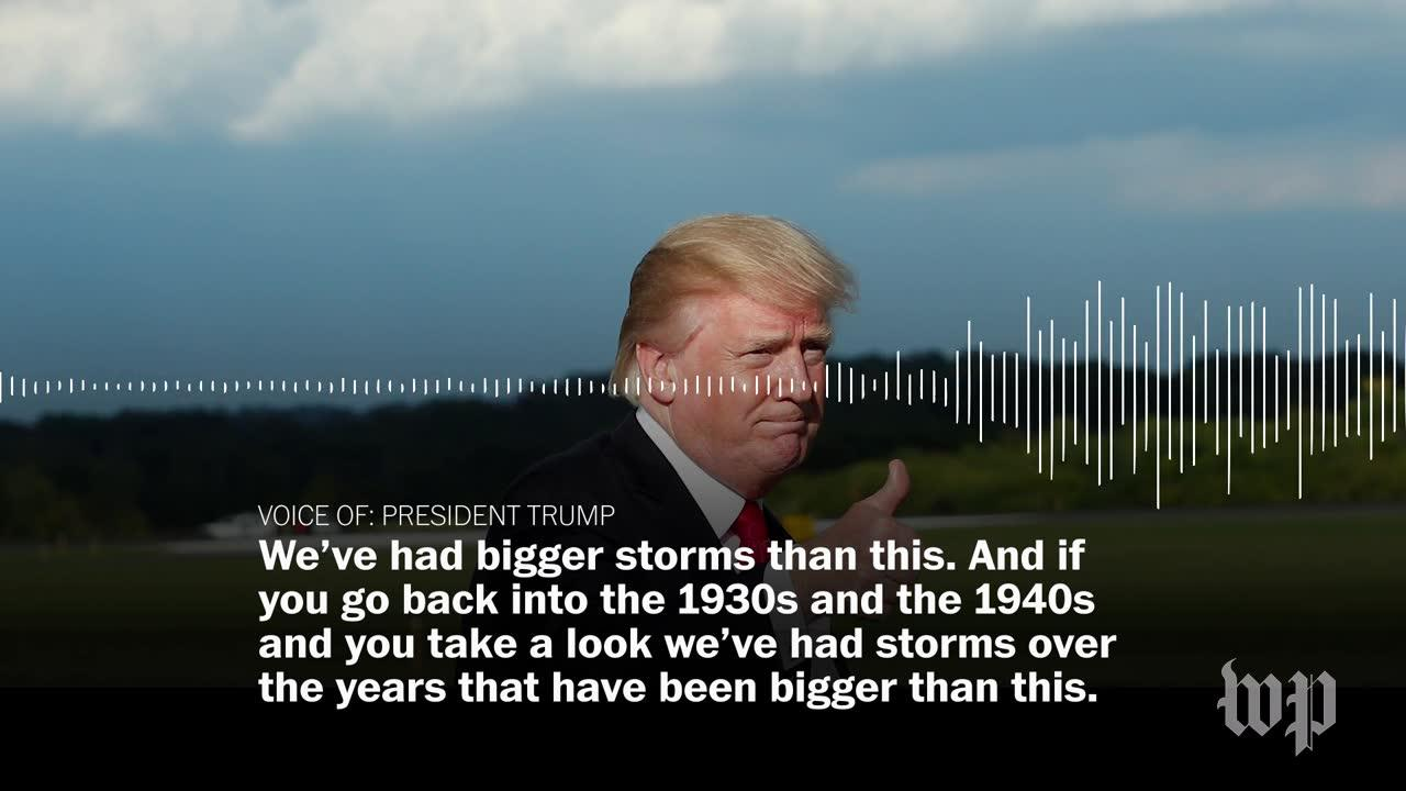 Trump On Hurricanes Harvey And Irma: 'We'Ve Had Bigger Storms Than_...