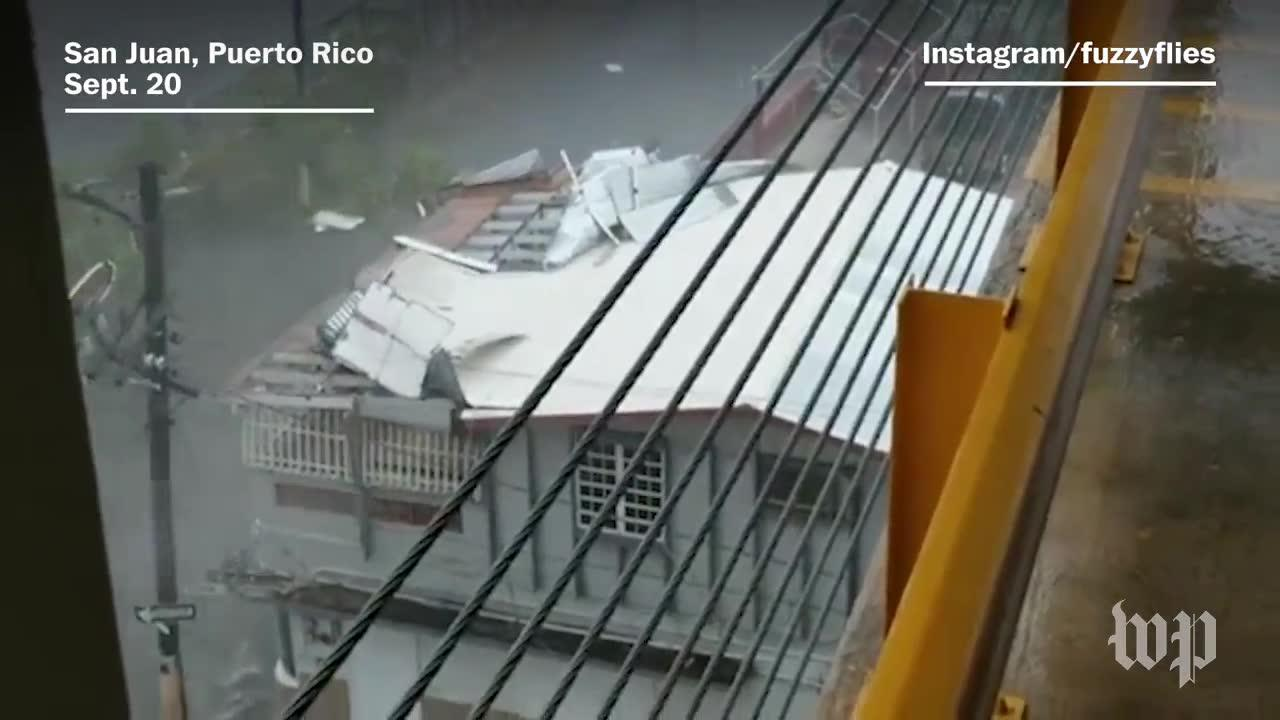 Hurricane Maria Brings Extreme Wind And Rain To Puerto Rico