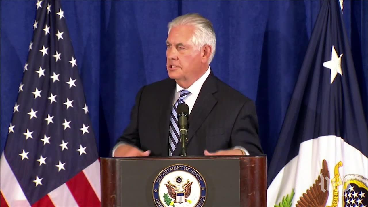 Tillerson Says Trump 'Doesn'T Share His Forward Planning With People'