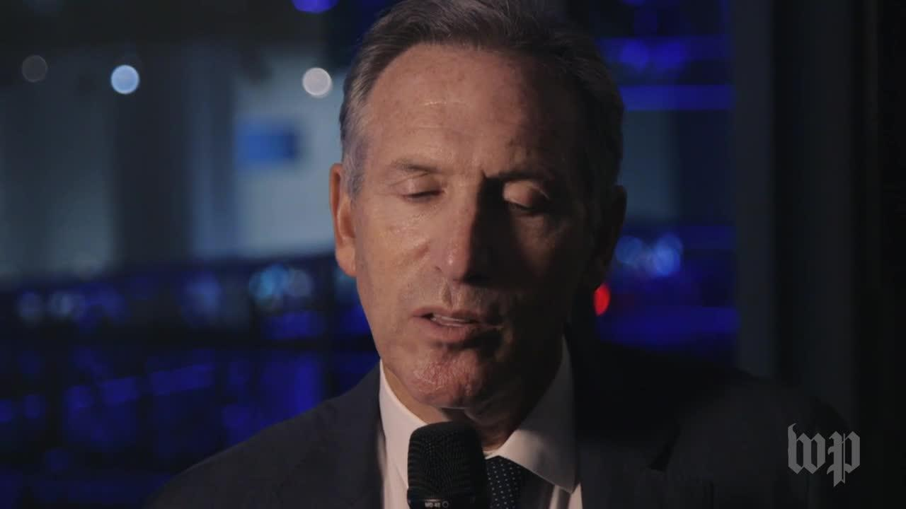 Starbucks Chairman Howard Schultz: America 'Needs To Become More C_...