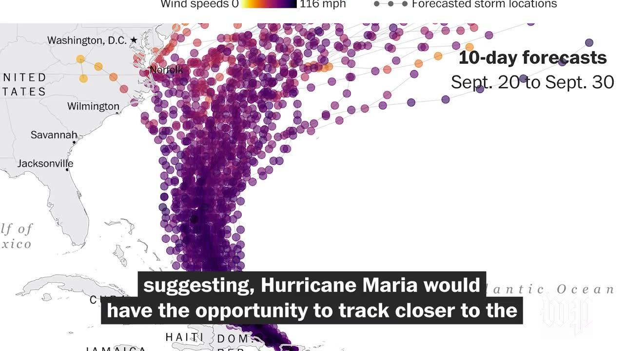 How Hurricane Jose Could Influence Whether Hurricane Maria Affects_...