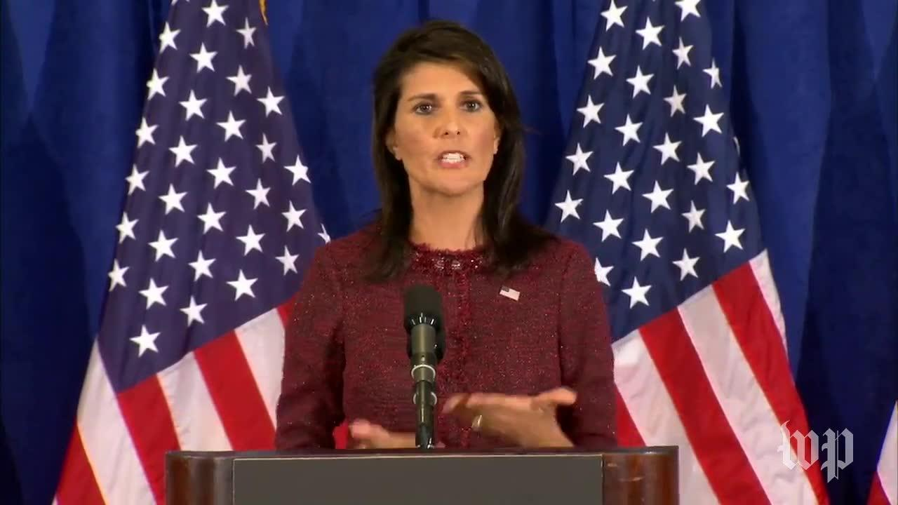 Nikki Haley: 'We'Re Not Going To Run Scared' From North Korea