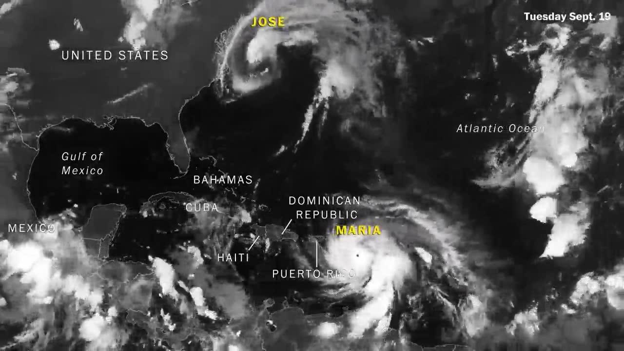 Watch Five Hurricanes Churn Through The Atlantic In One Month