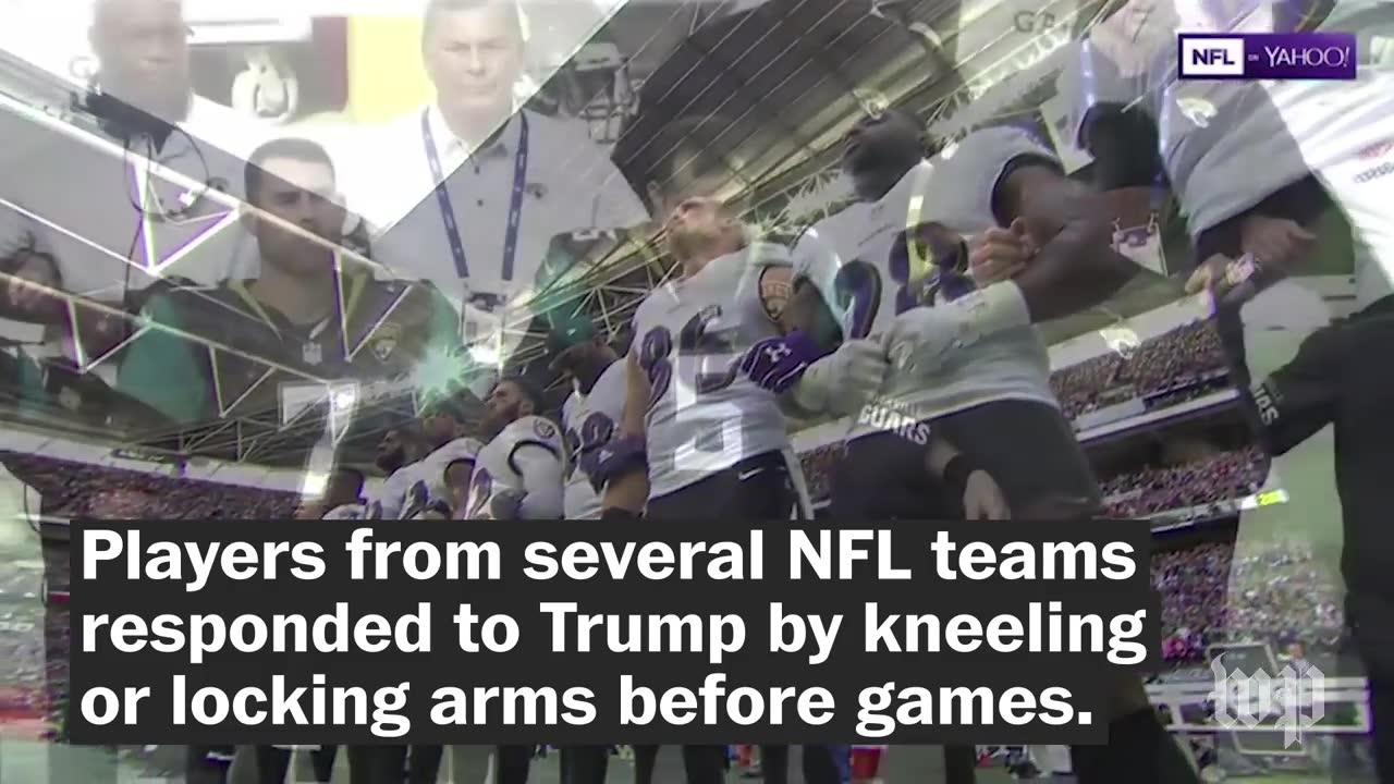 Trump Said Nfl Players Who Kneel Should Be Fired. Then More Player_...
