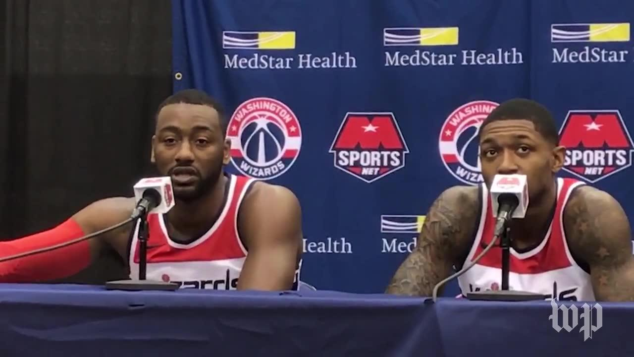 Wizards' Wall And Beal Talk Trump And Athlete Activism