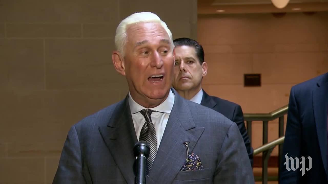 Roger Stone Slams Russia Investigation After Congressional Testimony