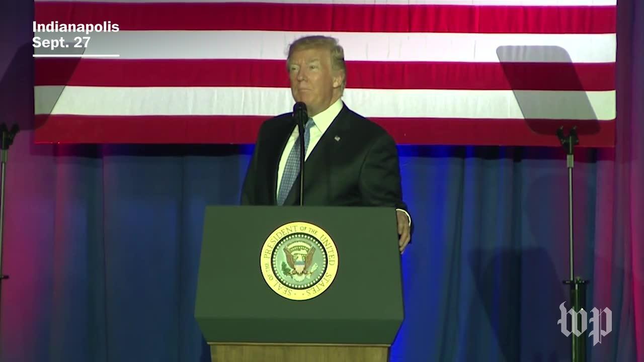 Trump'S Speech On The Gop Tax Plan, In Three Minutes