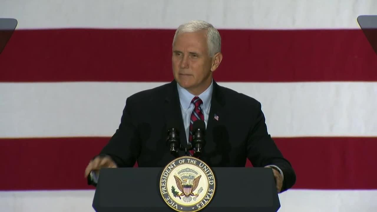 Pence Says Tax Cuts Will Be Enacted 'Before We Get To Christmas'