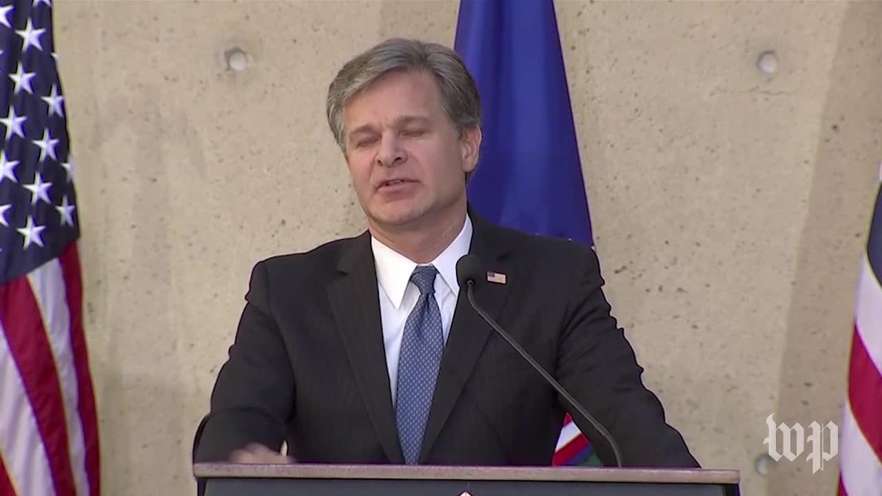 Wray: Fbi Will Do Its Job 'No Matter Who Likes It'