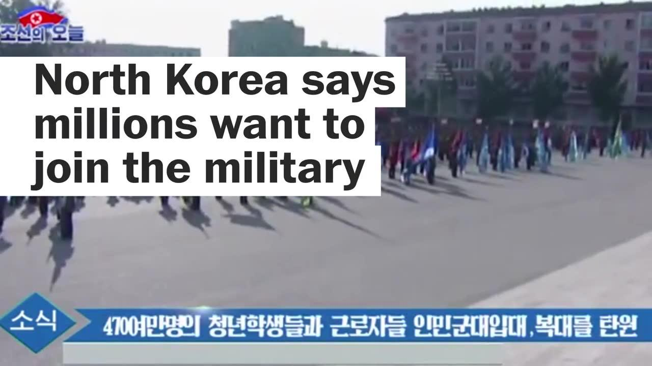 North Korea Is So Upset Over Trump That It Says Nearly 5 Million W_...