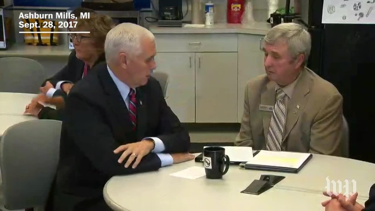 Small Business Owners Share Tax Concerns With Pence