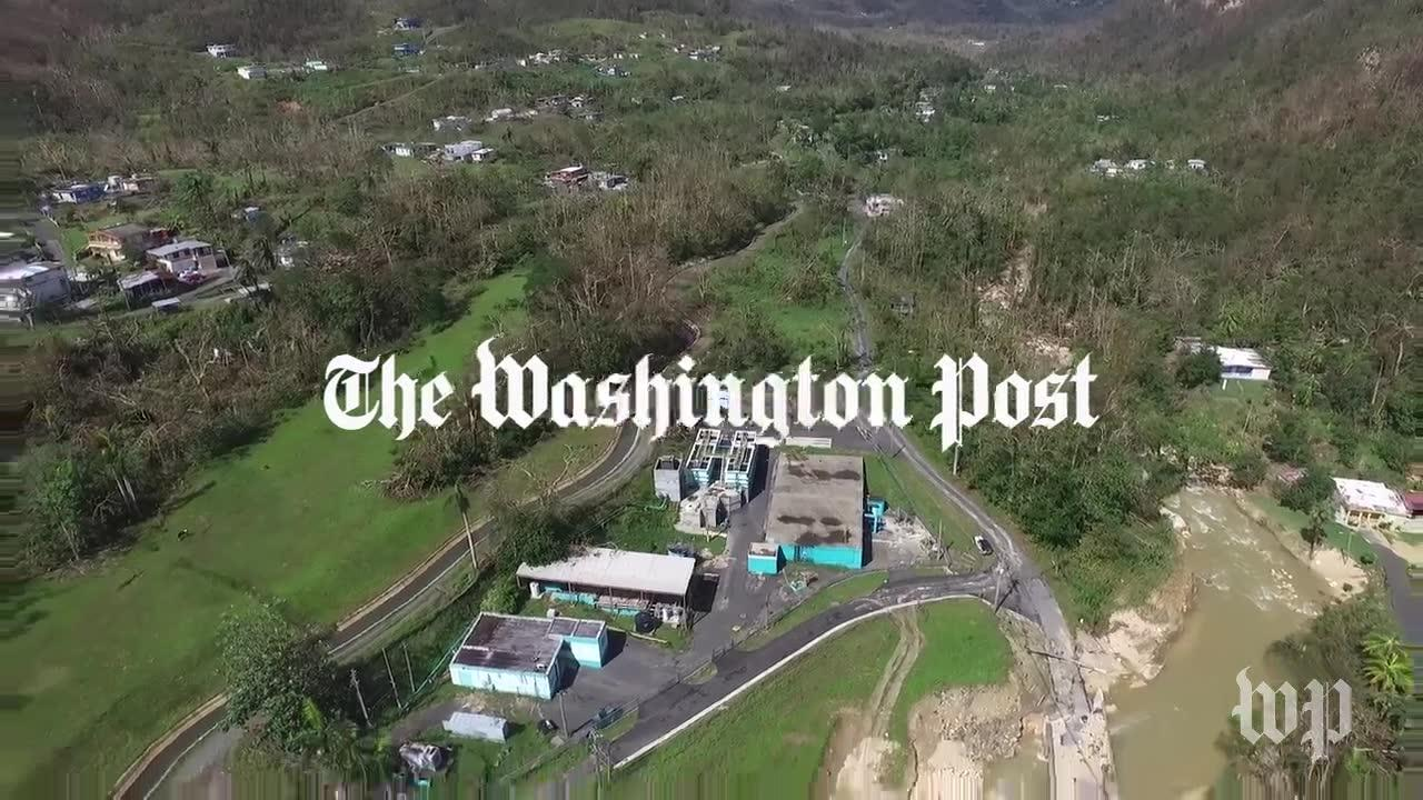 Watch Aerial Views Of Damaged Guajataca Dam In Puerto Rico