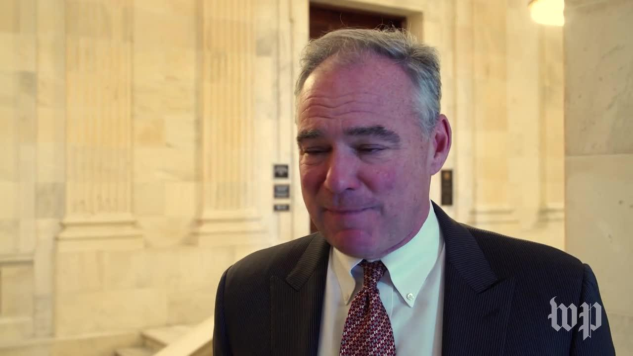 Kaine: 'We'Ve Lost Our Minds' On Gun Policies