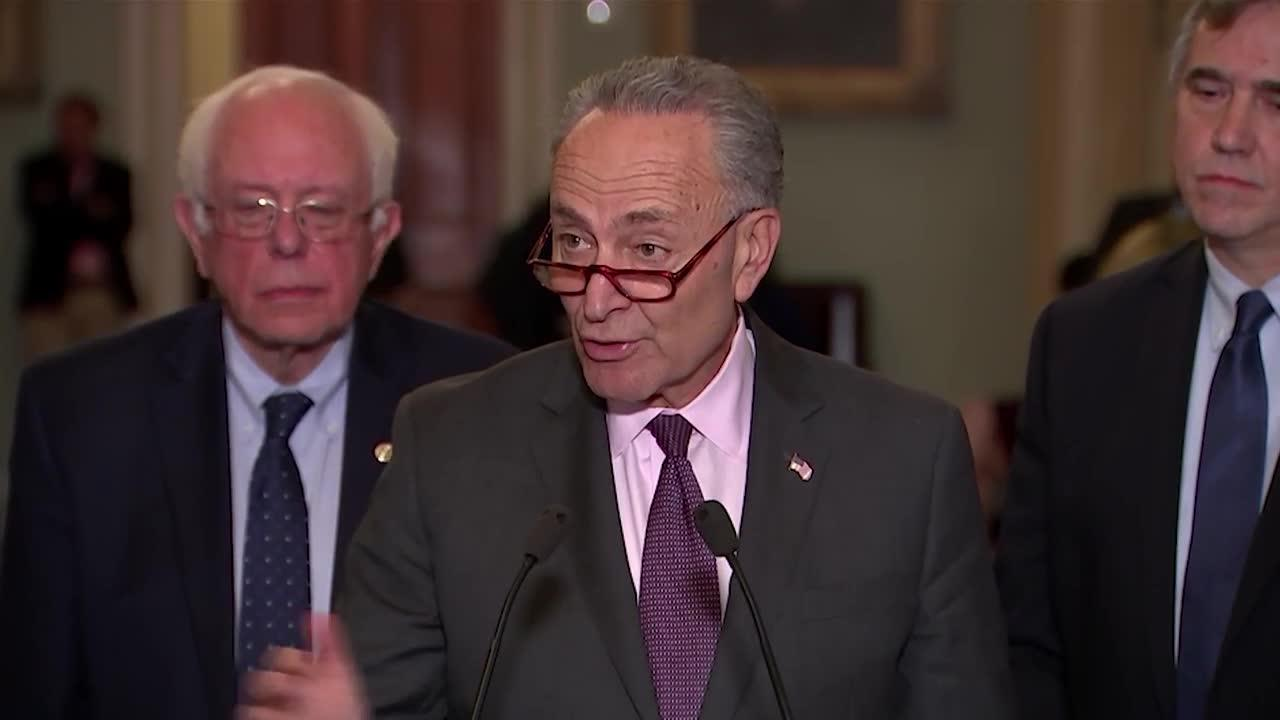 Schumer To Trump: 'Break From The Nra'
