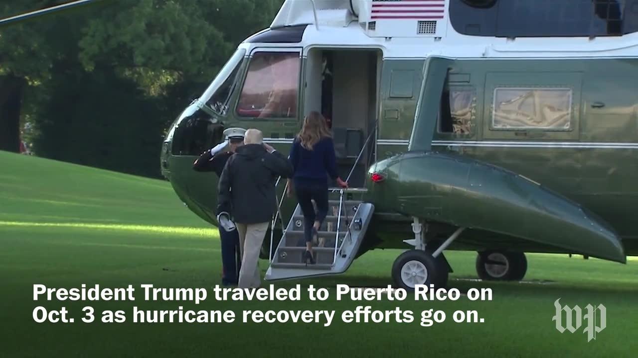 Trump'S Visit To Puerto Rico, In Two Minutes
