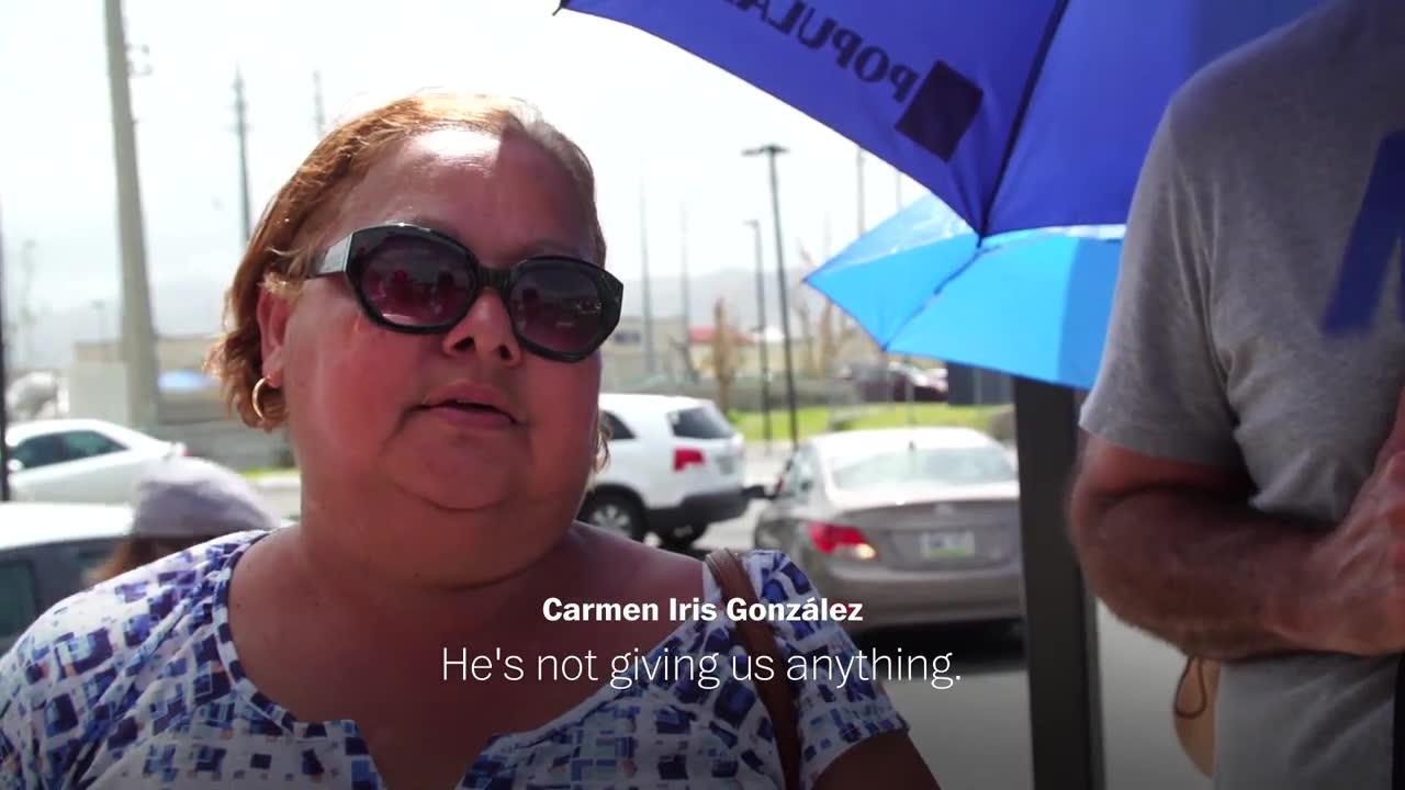 Maria Survivor Calls Trump 'A Disaster,' Reflects On His Response _...