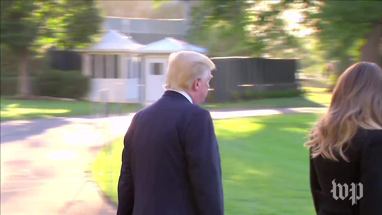Trump: 'It'S A Very, Very Sad Day For Me, Personally' As He Leaves_...