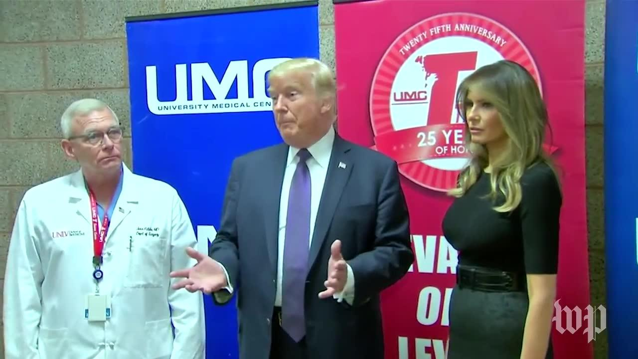 Trump: Medical Staff In Las Vegas Did A 'Job That'S Indescribable'