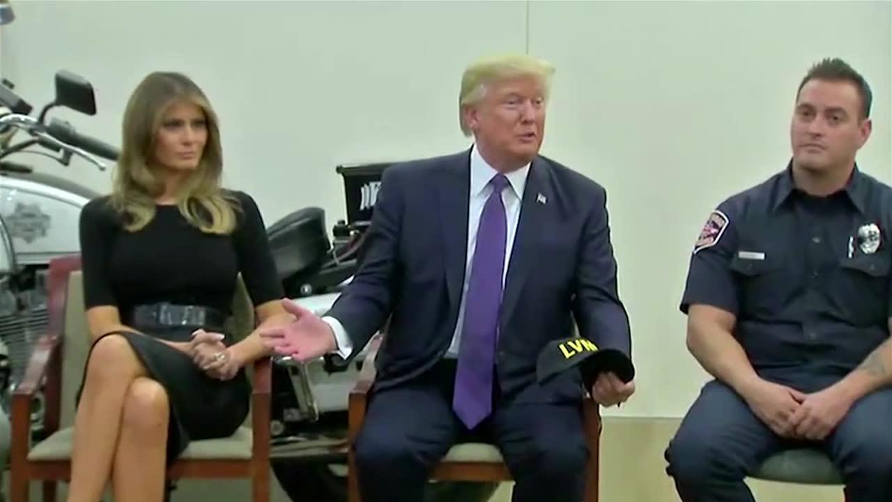 Trump: Las Vegas Shooter Was 'A Sick, Demented Man'