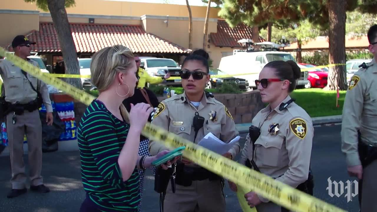Survivors Return To The Scene Of The Mass Shooting To Gather Belon_...