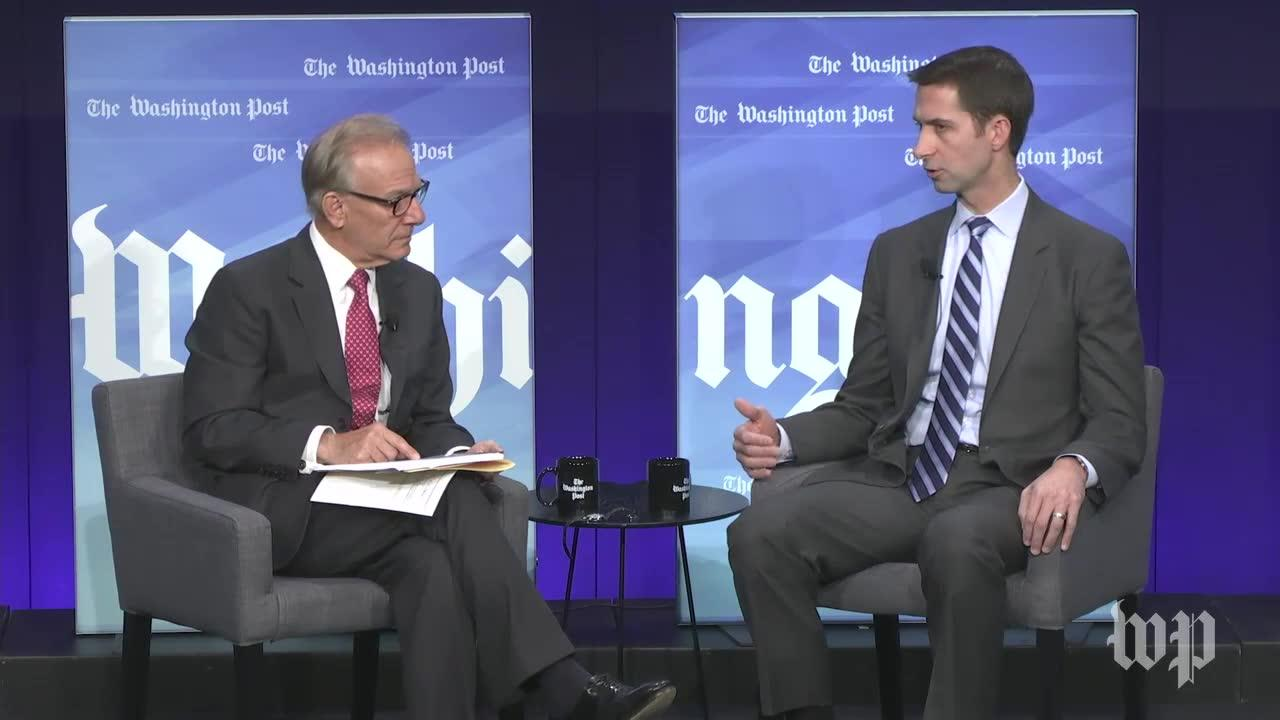 Sen. Tom Cotton: I'D Be 'Willing To Entertain' Regulation Of Bump-_...