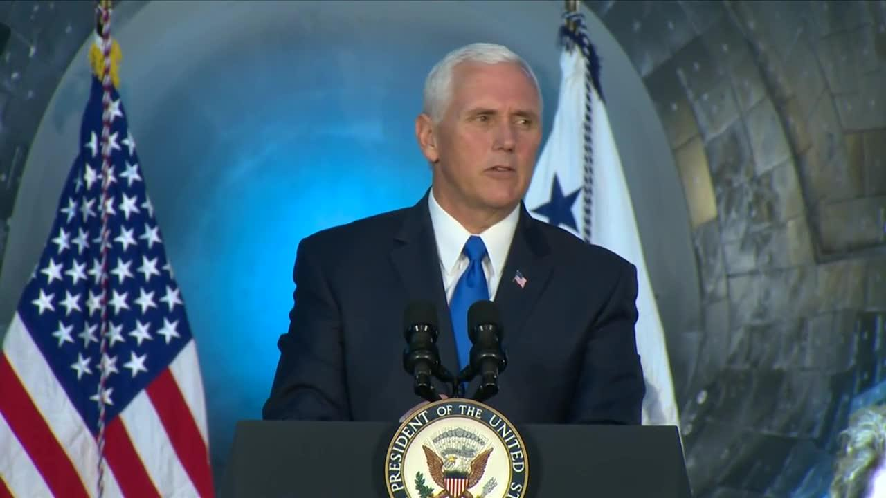 Pence: 'We Will Return American Astronauts To The Moon'