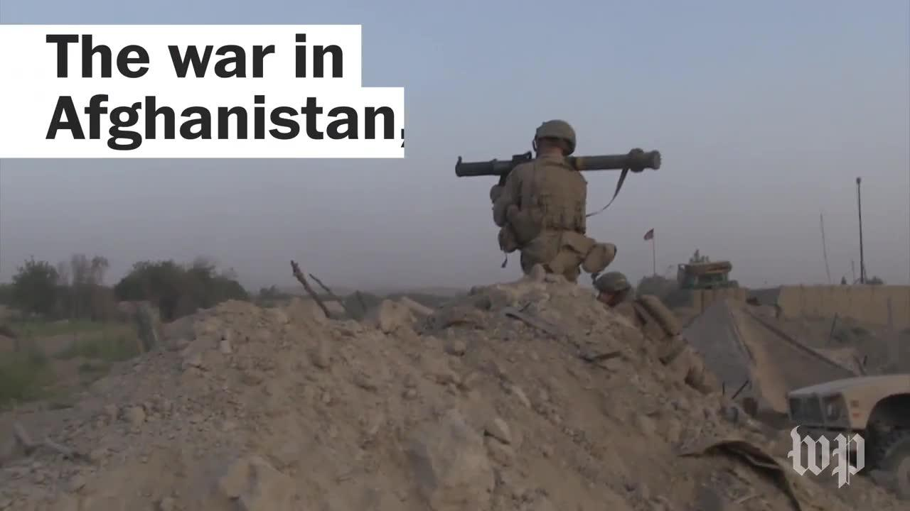 The War In Afghanistan, By The Numbers