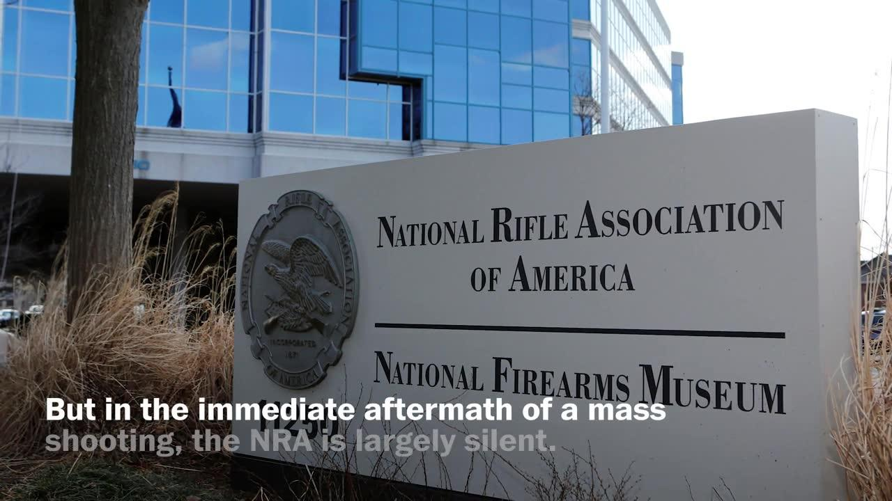 How The Gun Lobby Responds To Mass Shootings