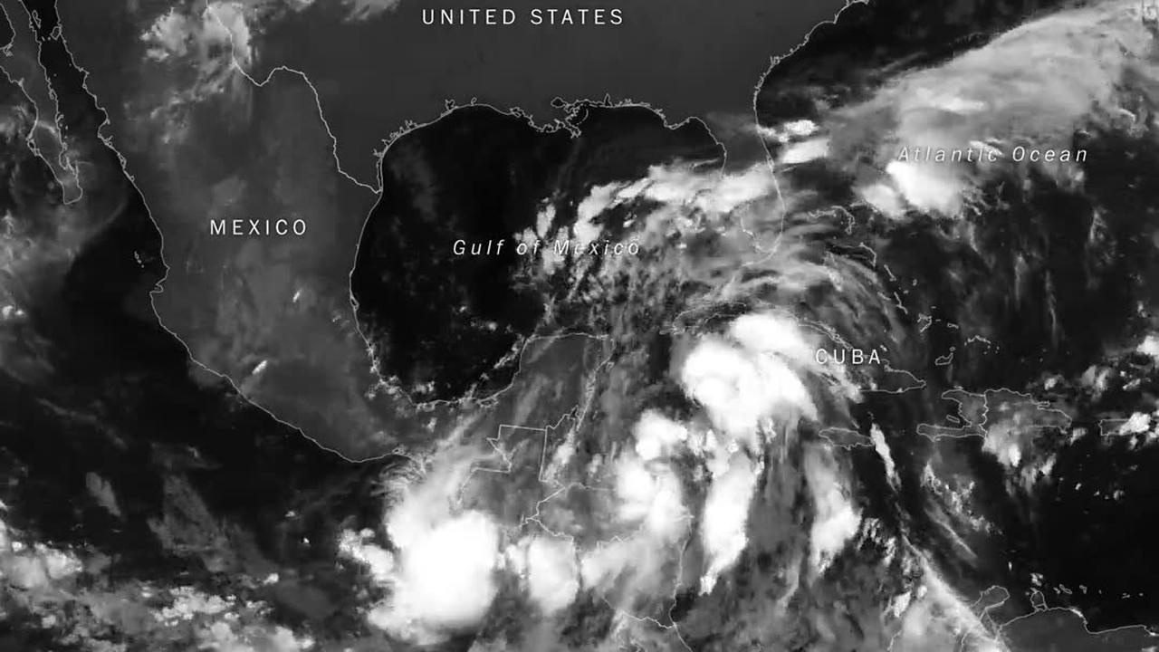 Hurricane Nate Approaches The Gulf Coast