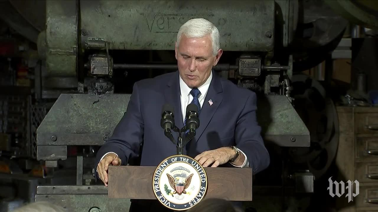 Pence Promises Tax Reform Will Be Achieved 'This Year'
