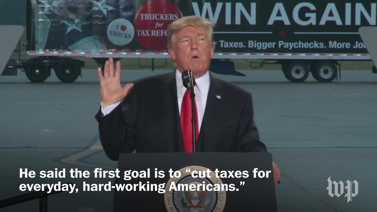 Trump'S Speech On His Tax Proposal, In Three Minutes