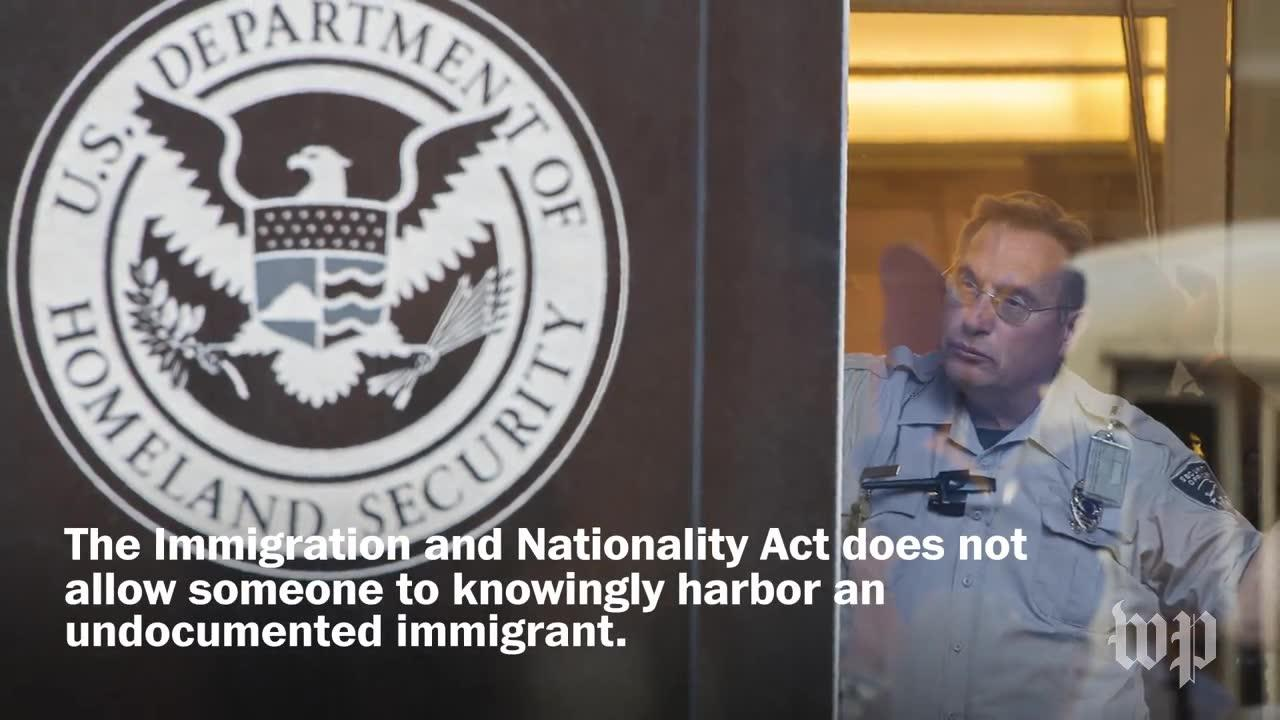 What You Need To Know About The 'Sanctuary Movement'