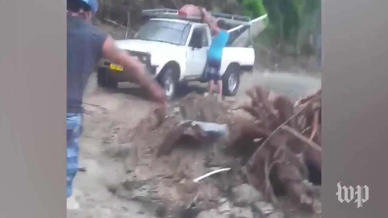 Mudslides Knock Down Homes, Destroy Roads In Puerto Rico Town
