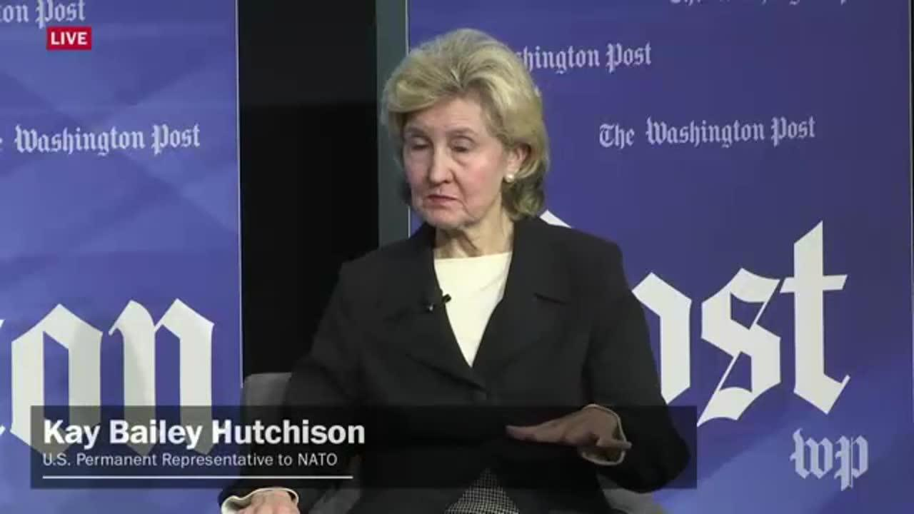 Amb. Kay Bailey Hutchison: 'I Don'T Know What The President'S Goin_...