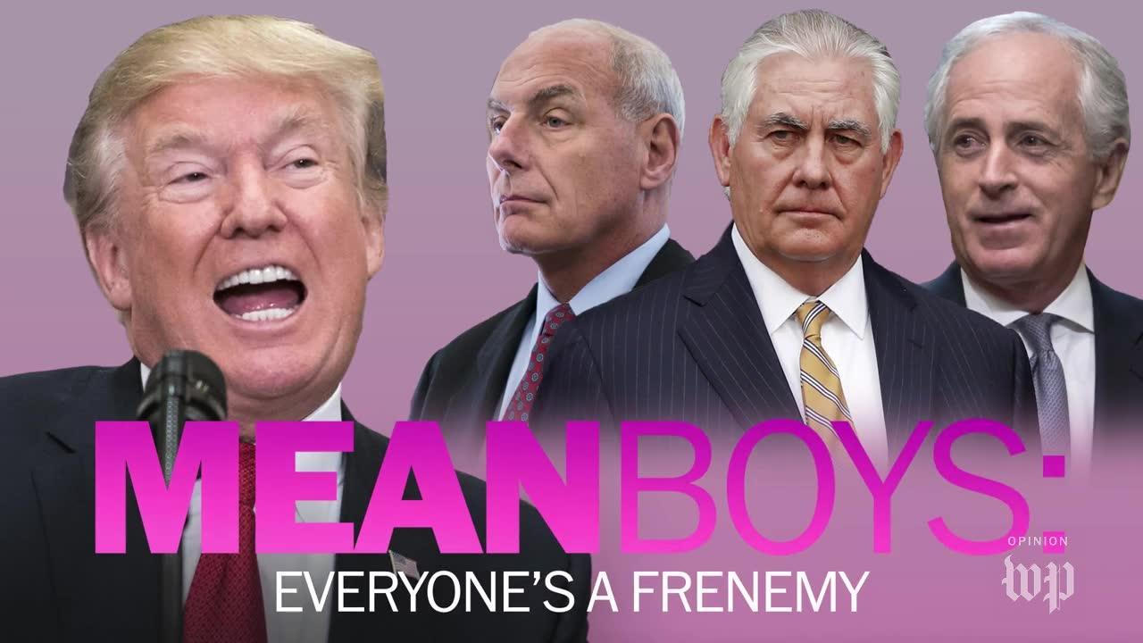 Mean Boys: Everyone'S A Frenemy