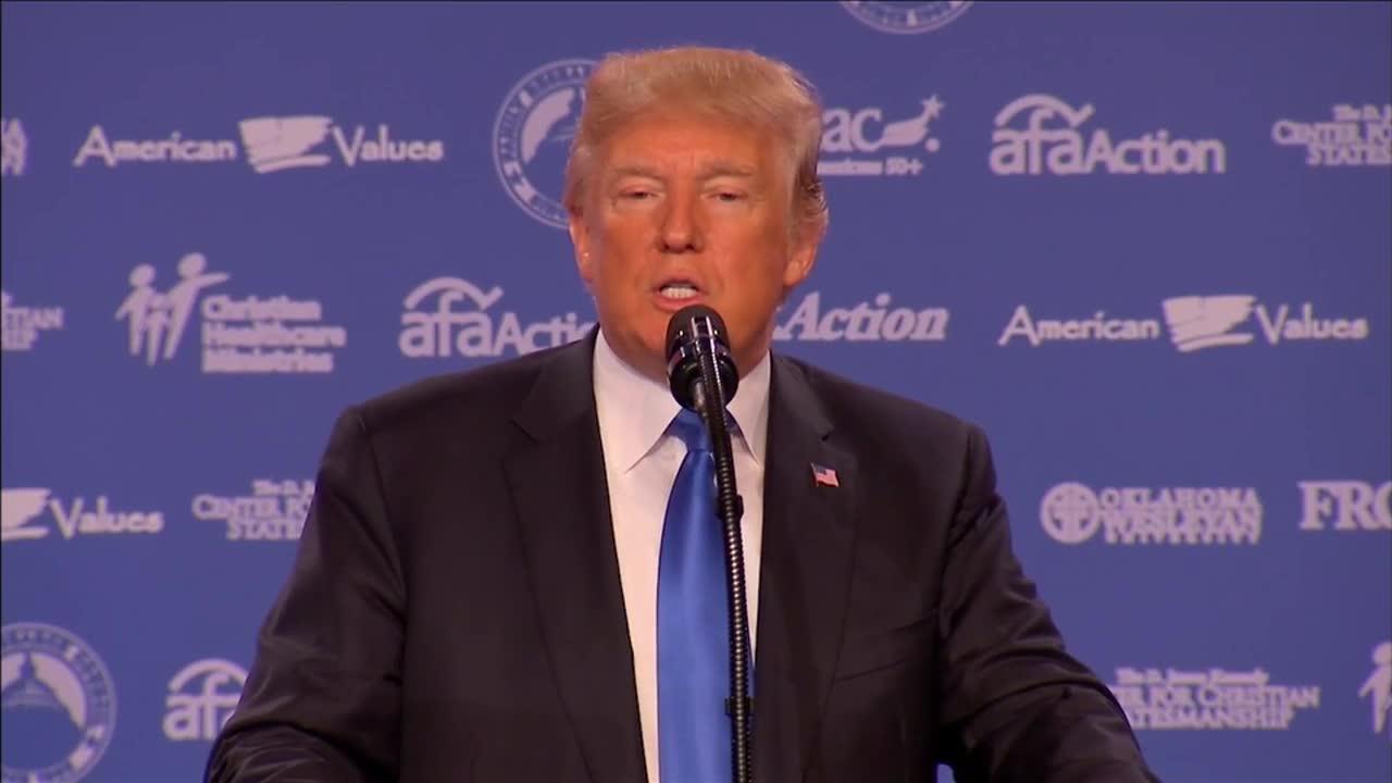 Trump Calls Iran 'A Terrorist Nation Like Few Others'