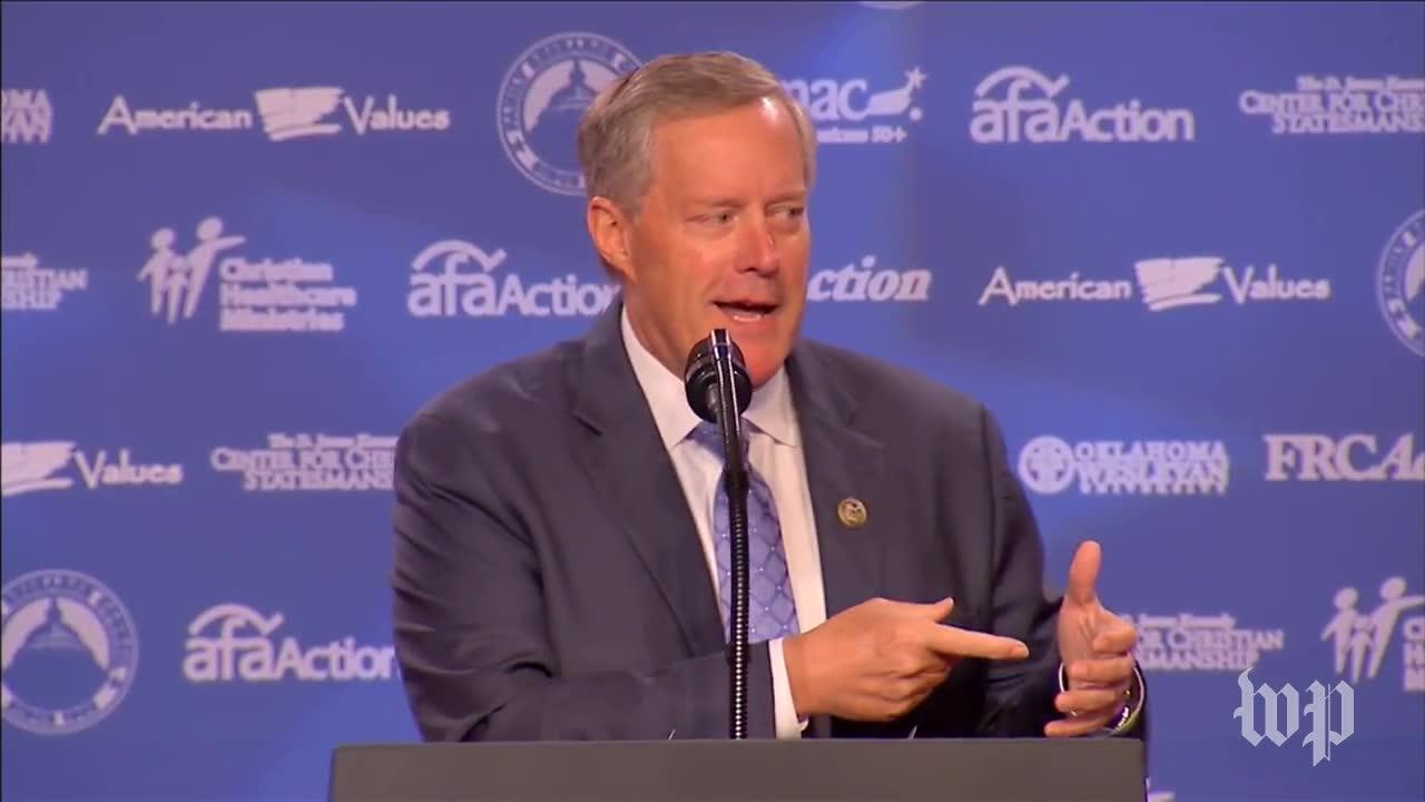 Meadows On Lawmakers Who Don'T Support Trump: 'Eject 'Em!'