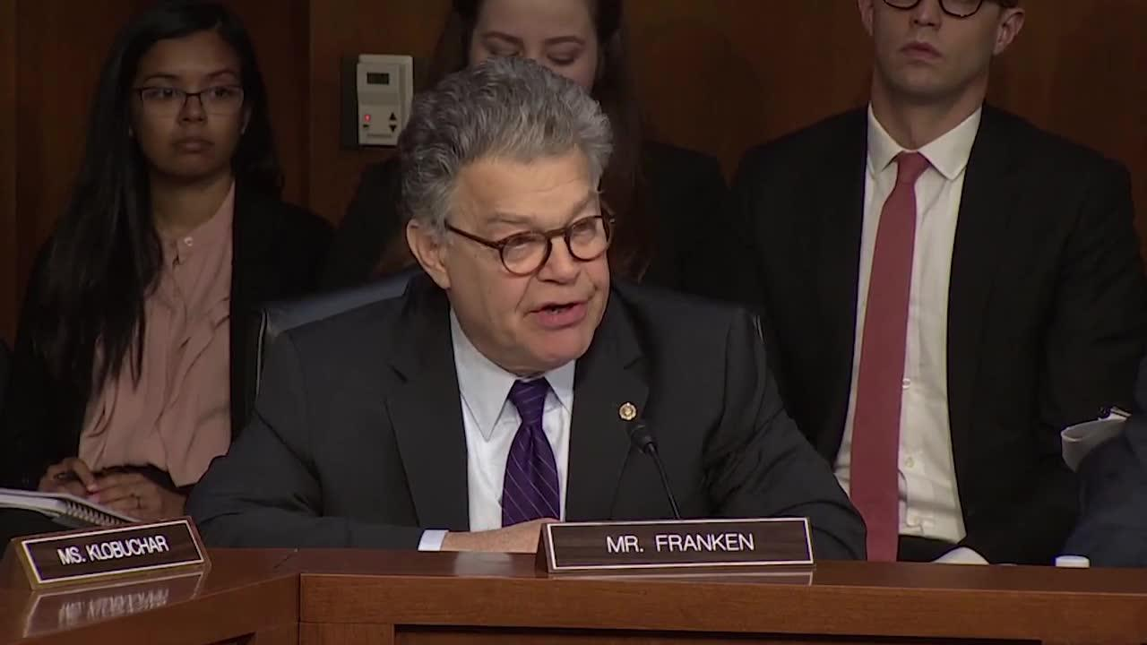 Sessions Gets Heated With Franken