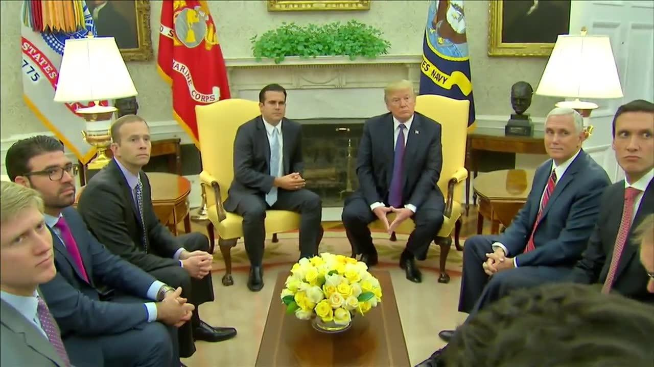 Trump: 'I Give Ourselves A 10' On Puerto Rico Response
