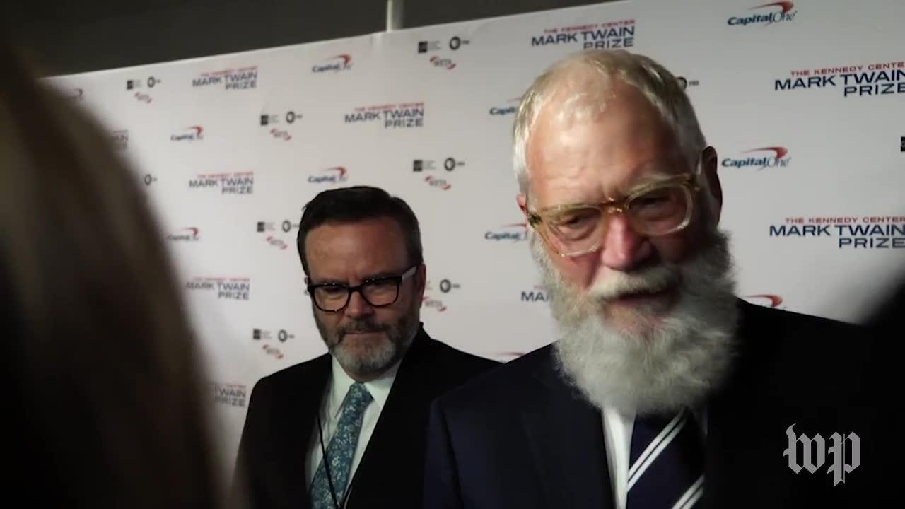 Letterman On Receiving Mark Twain Prize: 'I'M Trying To Impress' M_...