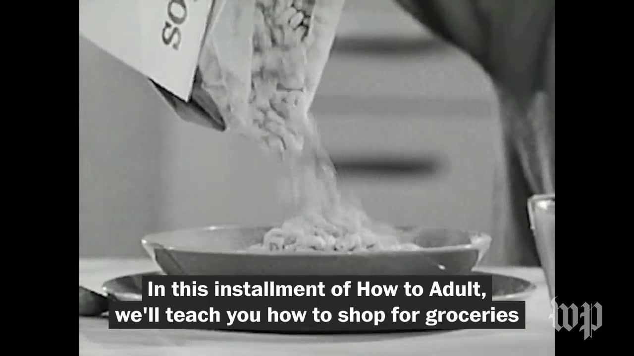 How To Adult: How To Shop For Groceries