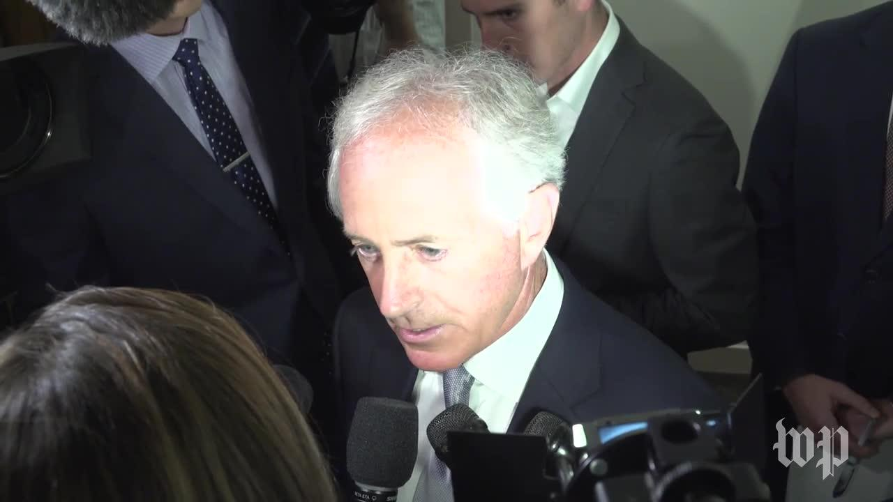 Corker: Trump Is 'Debasing' Our Nation