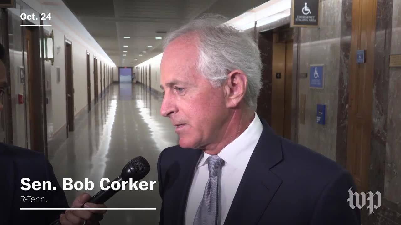 Corker Says Trump Is Debasing Our Nation