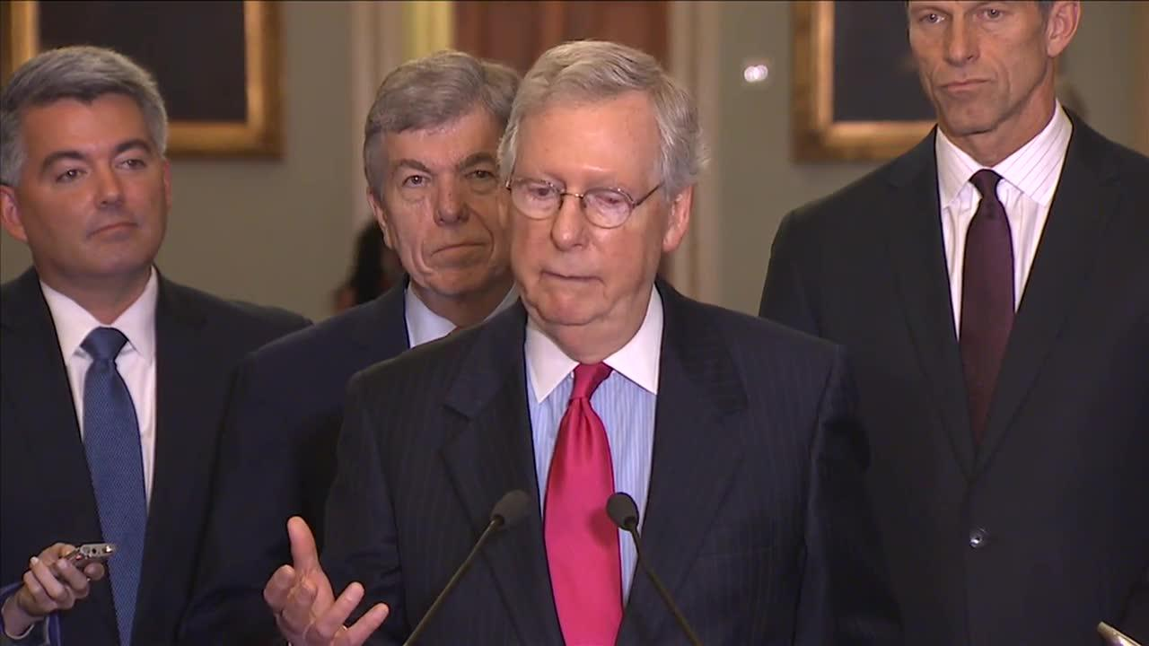 Mcconnell: 'If There'S Anything That Unifies Republicans, It'S Tax_...