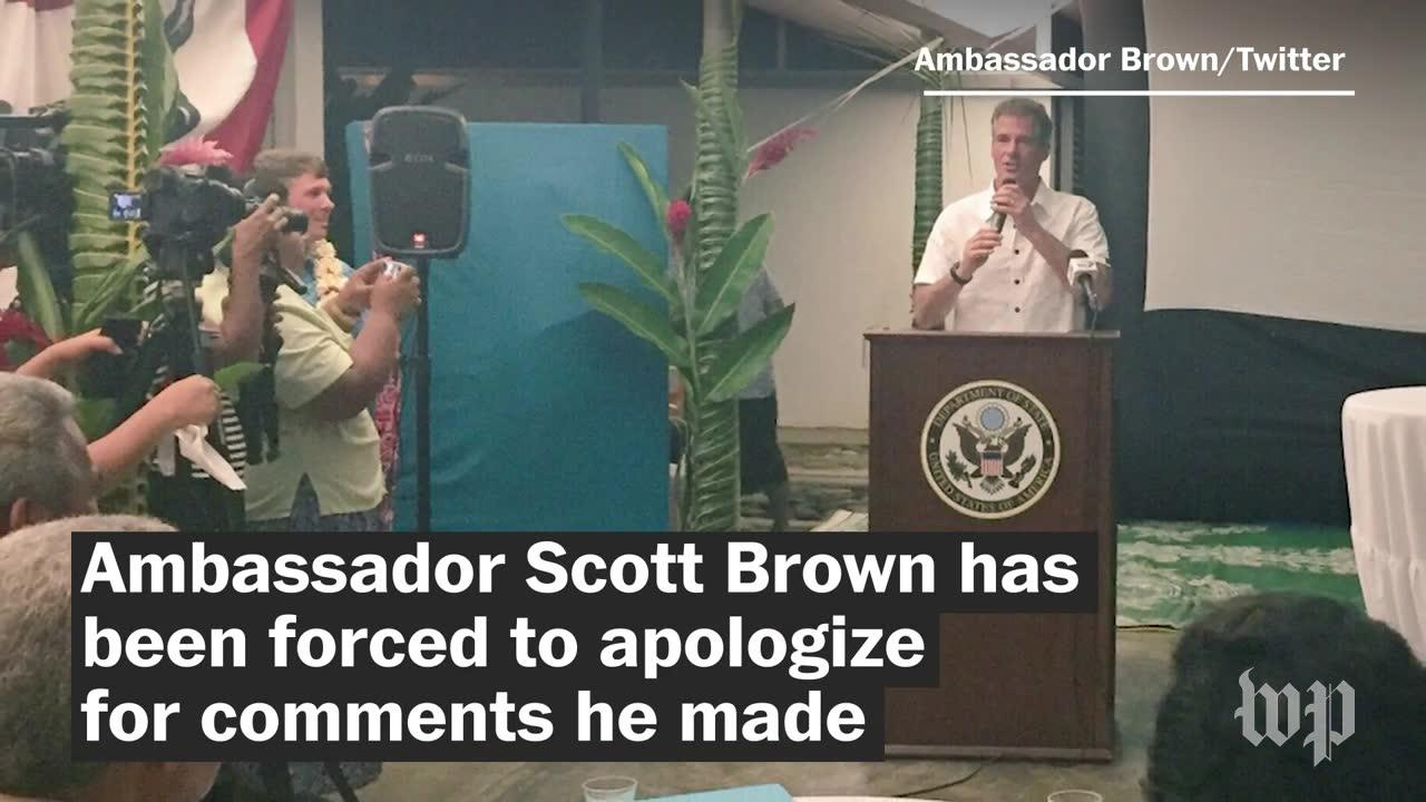 Who Is Scott Brown? The U.S. Ambassador Whose Words Sparked An Off_...