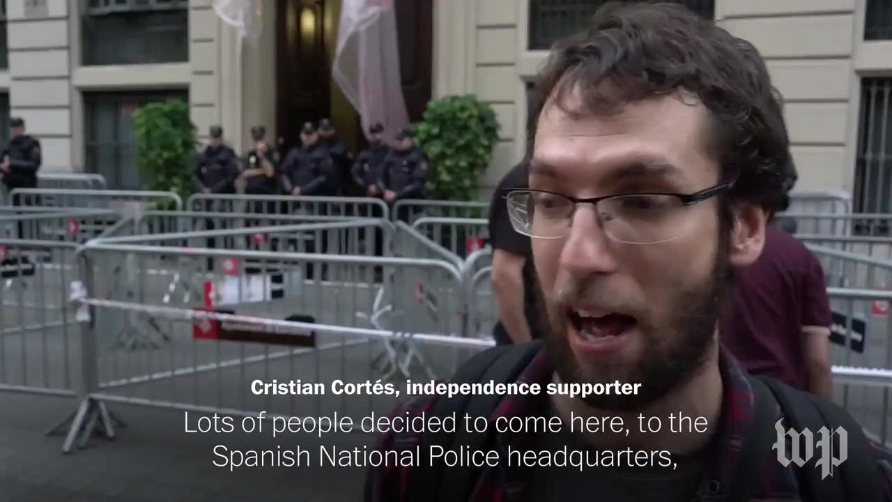 Catalans Celebrate Independence Vote, Worry About What'S Next