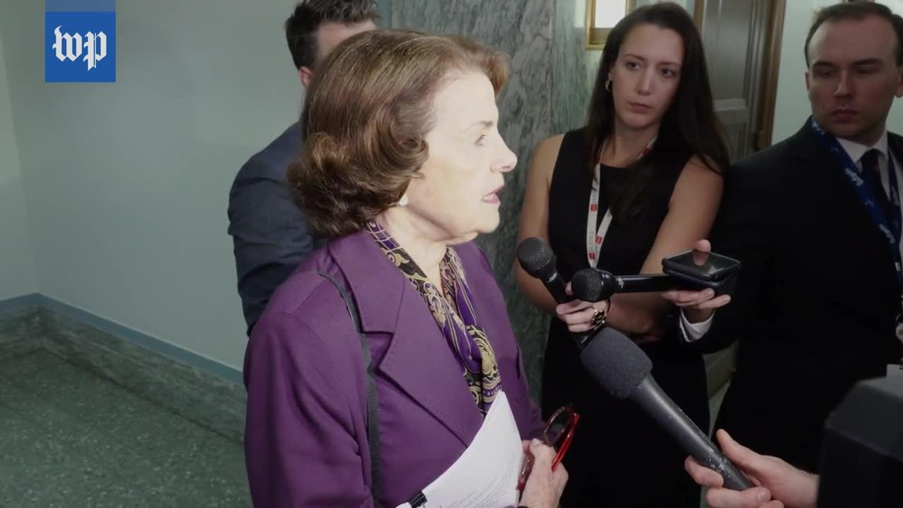 Feinstein On Tech Companies: 'It Really Is Time For Them To Step Up'