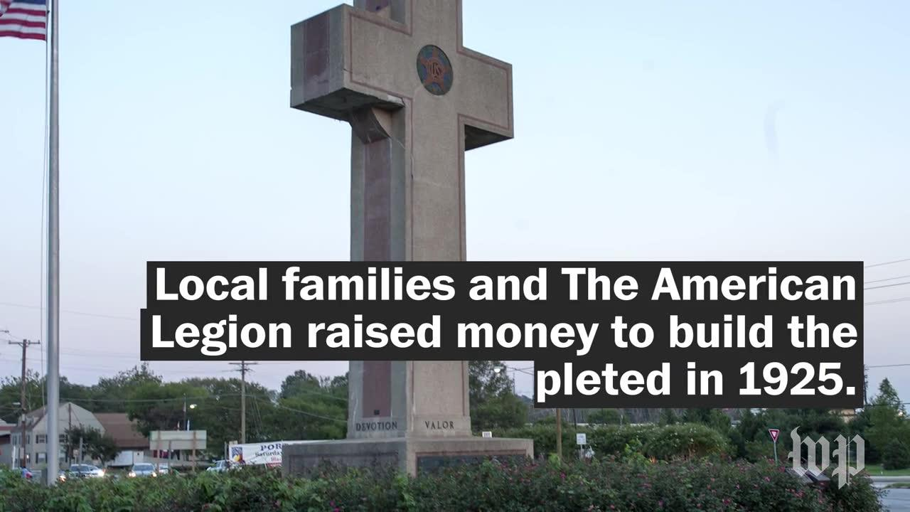 Is This 'Peace Cross' A Tribute To Veterans Or A Violation Of The _...