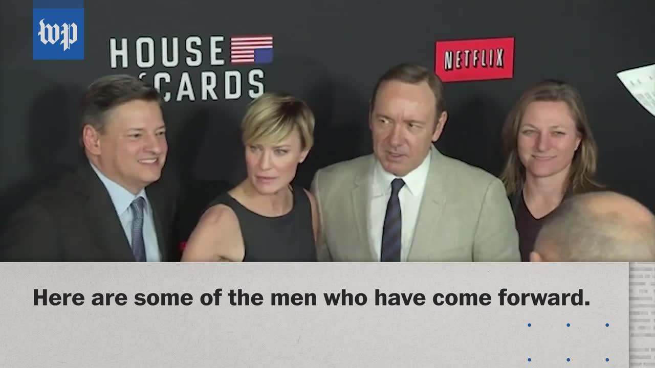 The List Of Men Accusing Kevin Spacey Of Sexual Misconduct