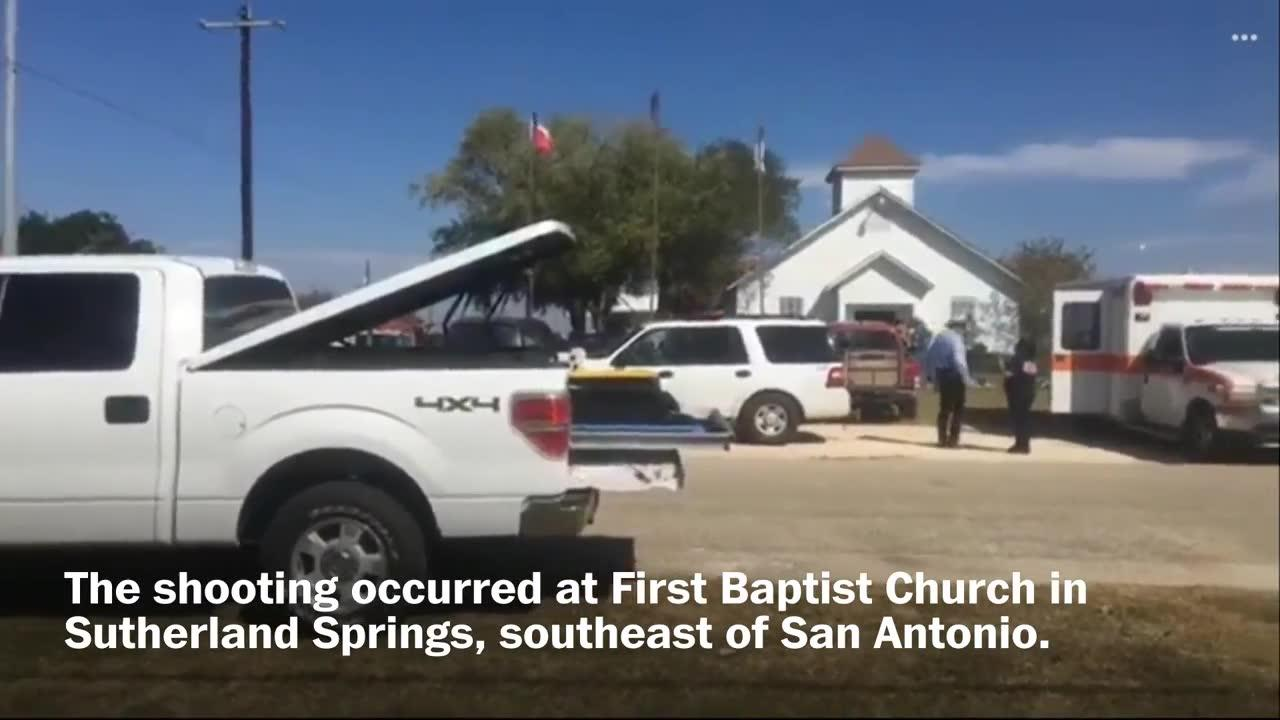 Several People Killed In Shooting At South Texas Church